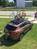Bike Racks Aplenty on the Hyundai Tucson