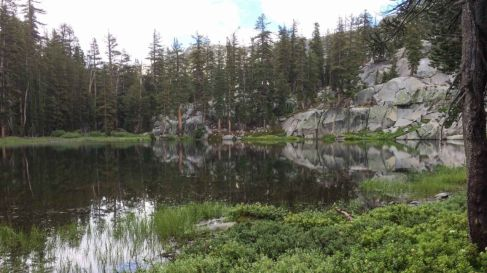 Secluded Upper Merced Pass Lake