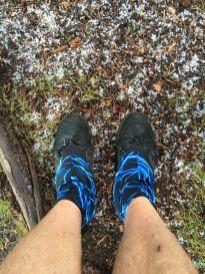 Hail on the trail