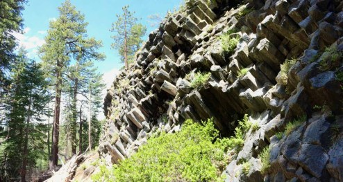 More posts on the trail down the other side of Devils Postpile