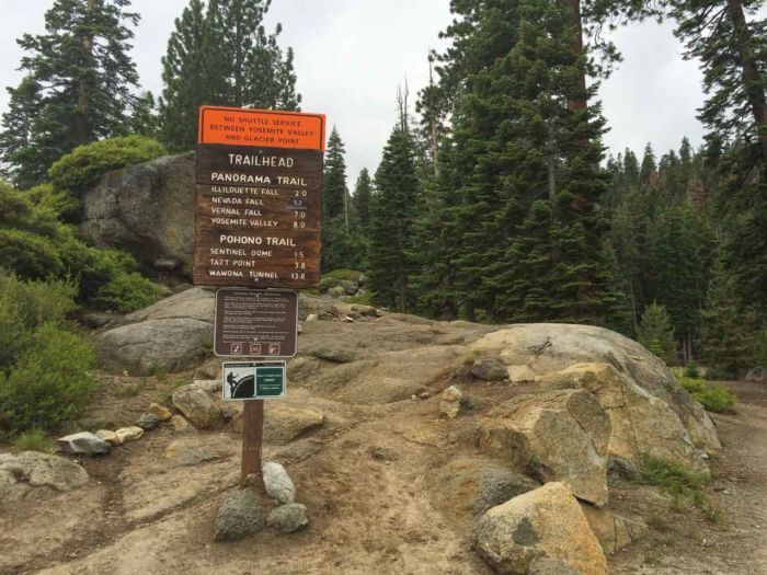 Trailhead for the Panorama Trail