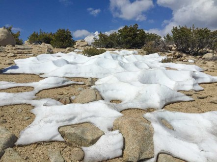 Snow on San Gorgonio in June