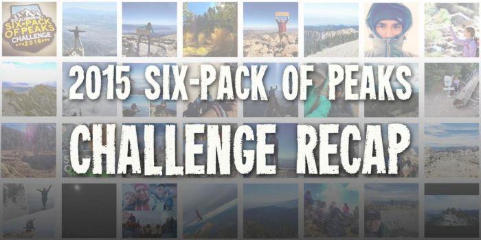 2015 Six-Pack of Peaks Challenge Recap