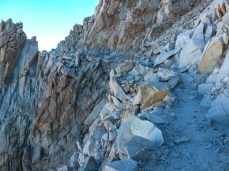 Trail to Mt Whitney