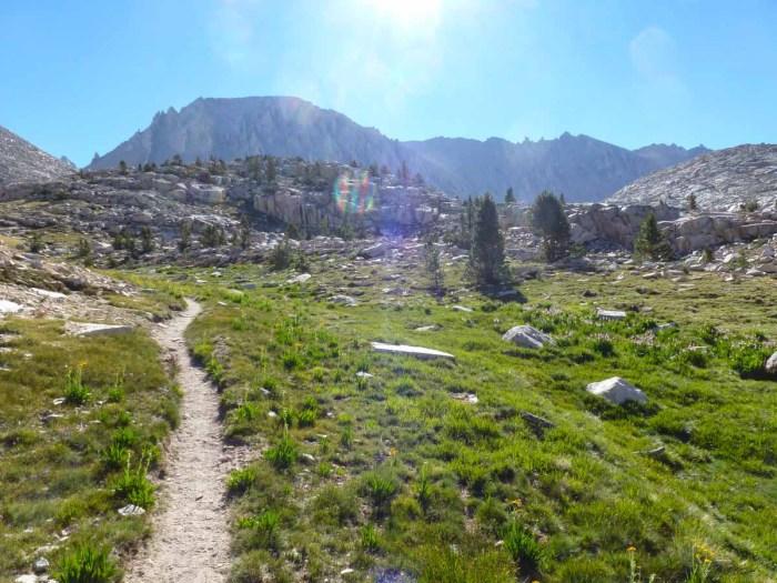 The trail towards Guitar Lake