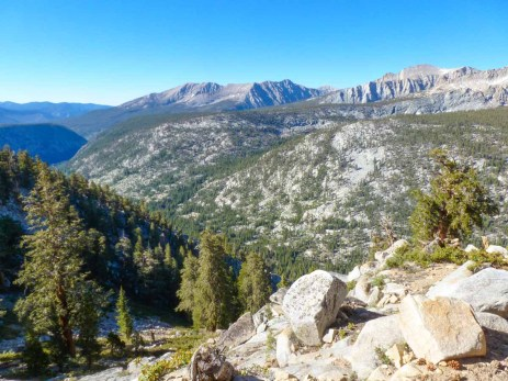 Day 3 on the HST: Descending into Kern Canyon