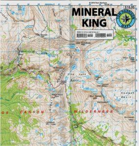 Tom Harrison Mineral King Map