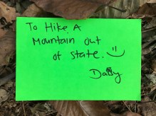 Hike a mountain out of state