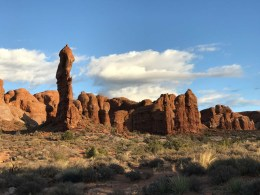 More geological oddities in Arches National Park