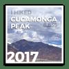 2017 Cucamonga Peak - Level 1