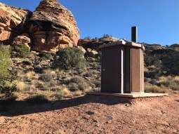 Pit Toilet at Roads End