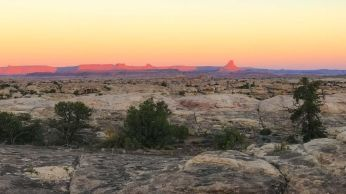 Sunrise in Canyonlands NP