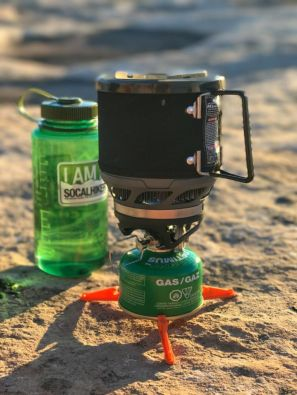 Cooking Dinner with my Jetboil