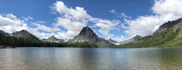 Two Medicine Lake Panorama