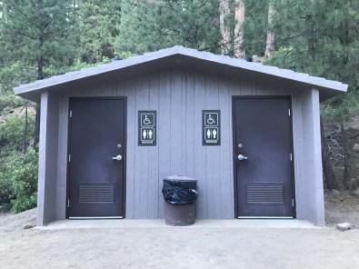 Basic trailhead facilities