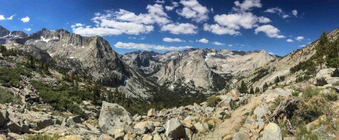LeConte Canyon panorama