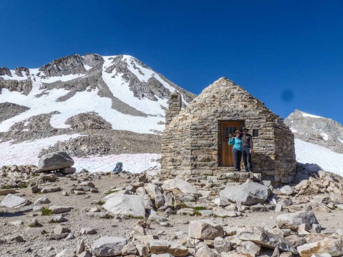 Iconic Muir Hut at Muir Pass