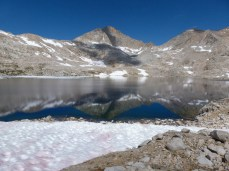 Helen Lake on the JMT