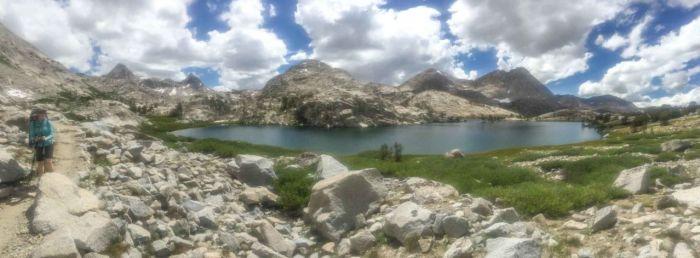 Panorama of Evolution Lake