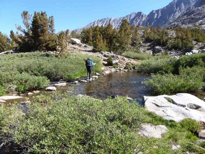 On the Bishop Pass Trail