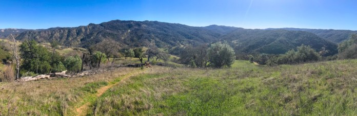 Views of Henry Coe SP from the Jackass Trail