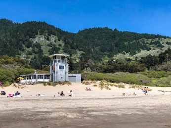 Siren Canteen on Stinson Beach