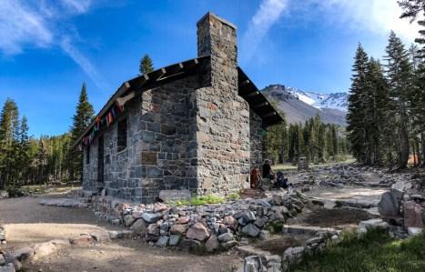 Stone lodge at Horse Camp