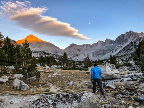 Thursday Night Camp in Dusy Basin