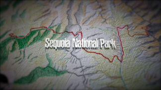 The High Sierra Trail route