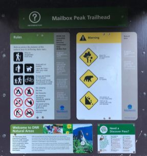 Trailhead information