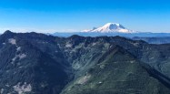 Mount Ranier to the south