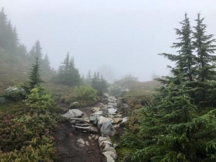 Trail Winding Around Granite Mountain