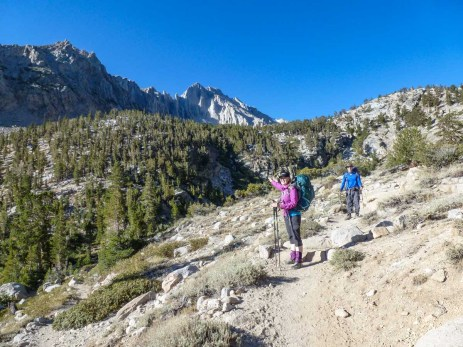 Day 1 - Start of the Kearsarge Pass Trail