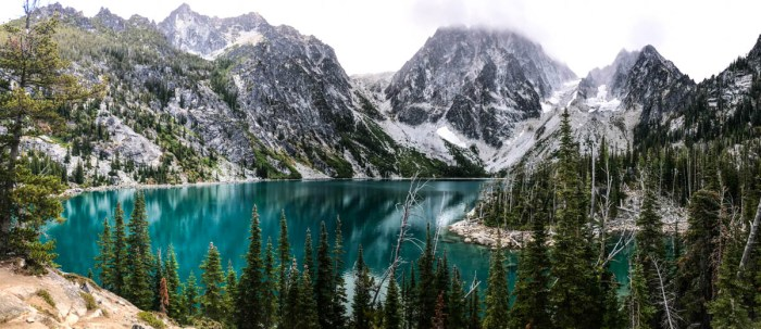 Colchuck Lake Panorama