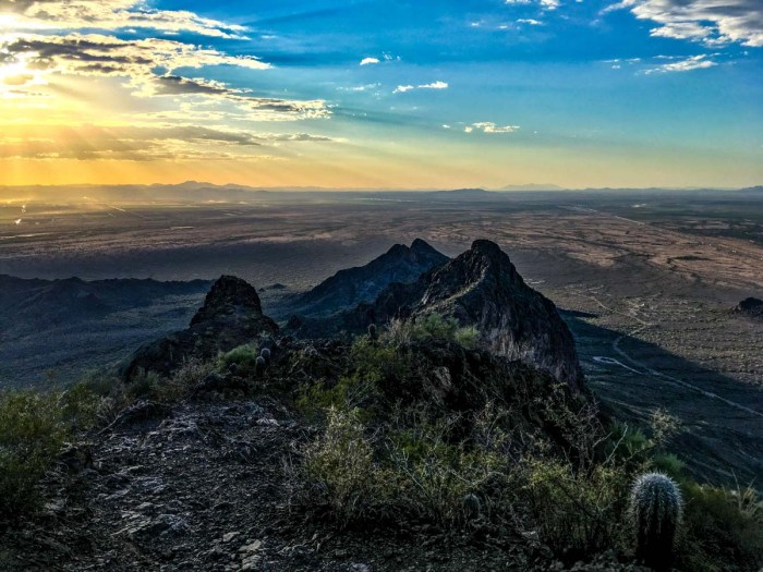 View from Picacho Peak
