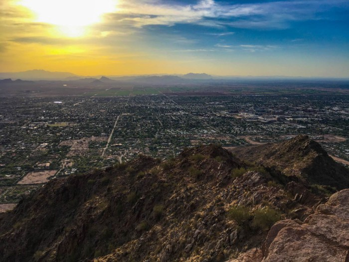 Wow! That view from Camelback Mountain