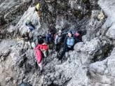 Rock Scramble on Kilimanjaro