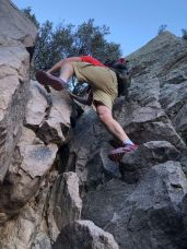 A short section with honest scrambling