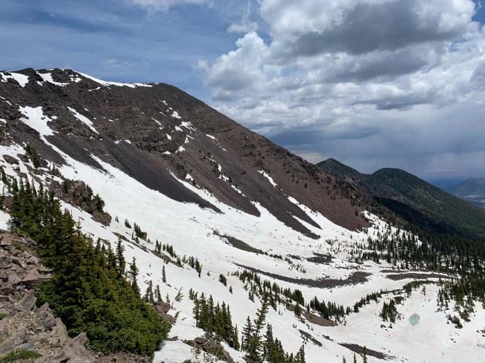 Hike up Humphreys Peak