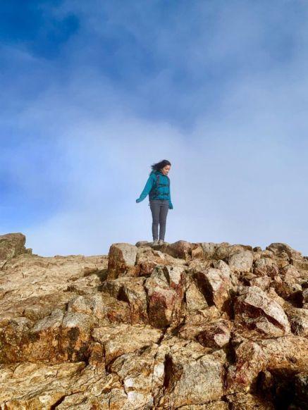 Tara on Mount Saint Helena