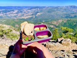 Lunch break on Mt Saint Helena