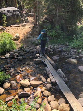 Crossing Illiloutte Creek