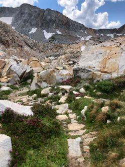 Trail to Red Peak Pass