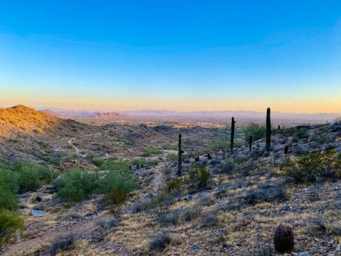 Sunrise over Phoenix