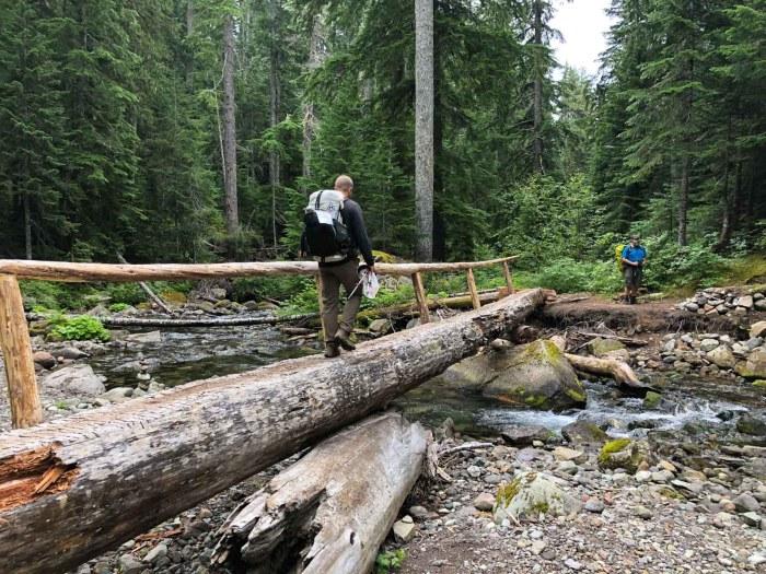 Crossing Nickel Creek