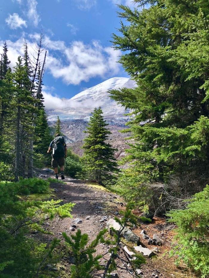 Jason near Winthrop Glacier