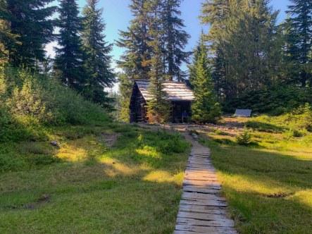 Golden Lakes Patrol Cabin