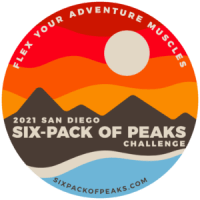 2021 San Diego Six-Pack of Peaks Challenge