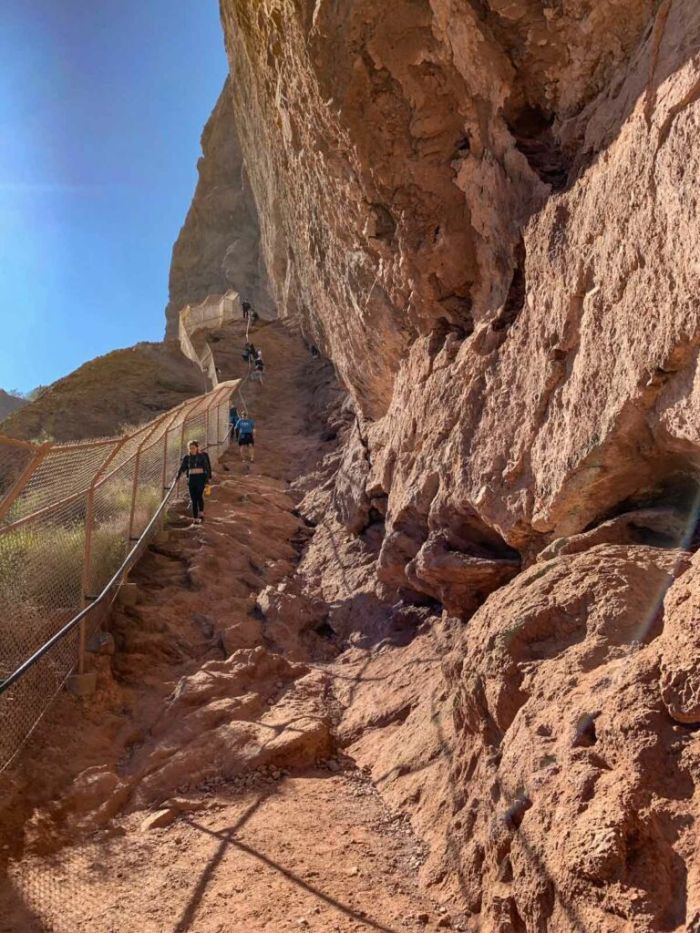 Steep Section on Echo Canyon Trail