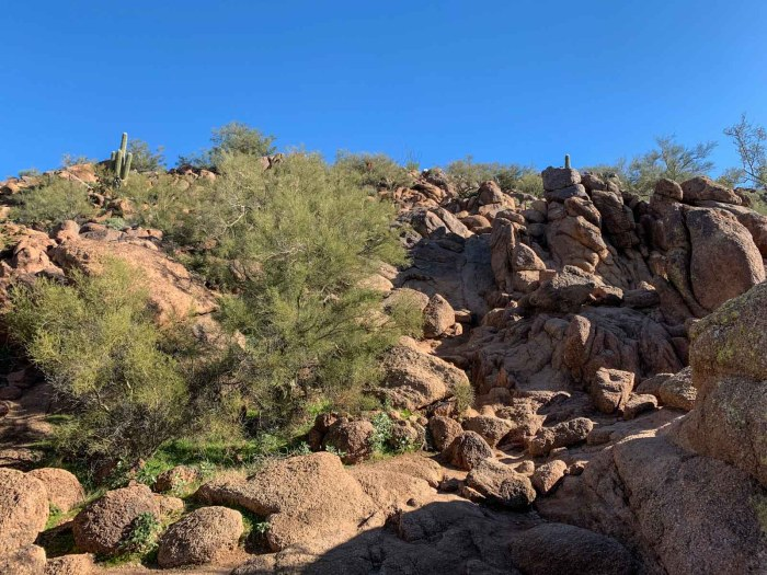 Last Section before summit of Camelback Mountain